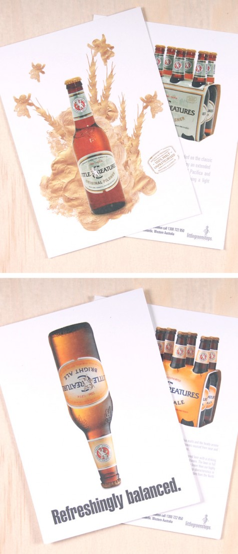 Little Creatures postcards