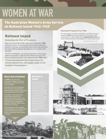 Rottnest interpretive Signage