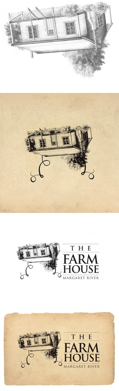 Farmhouse MR house illustration