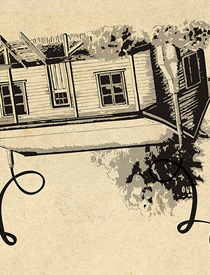 Farmhouse MR house illustration