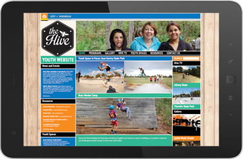 The Hive – Youth Website – City of Gosnells