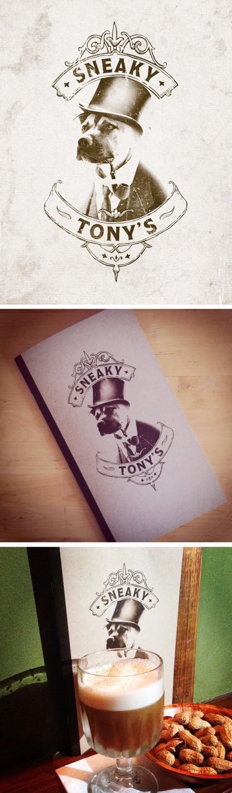 Sneaky Tony's branding